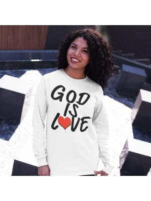 God Is Love Logo Unisex Long Sleeve