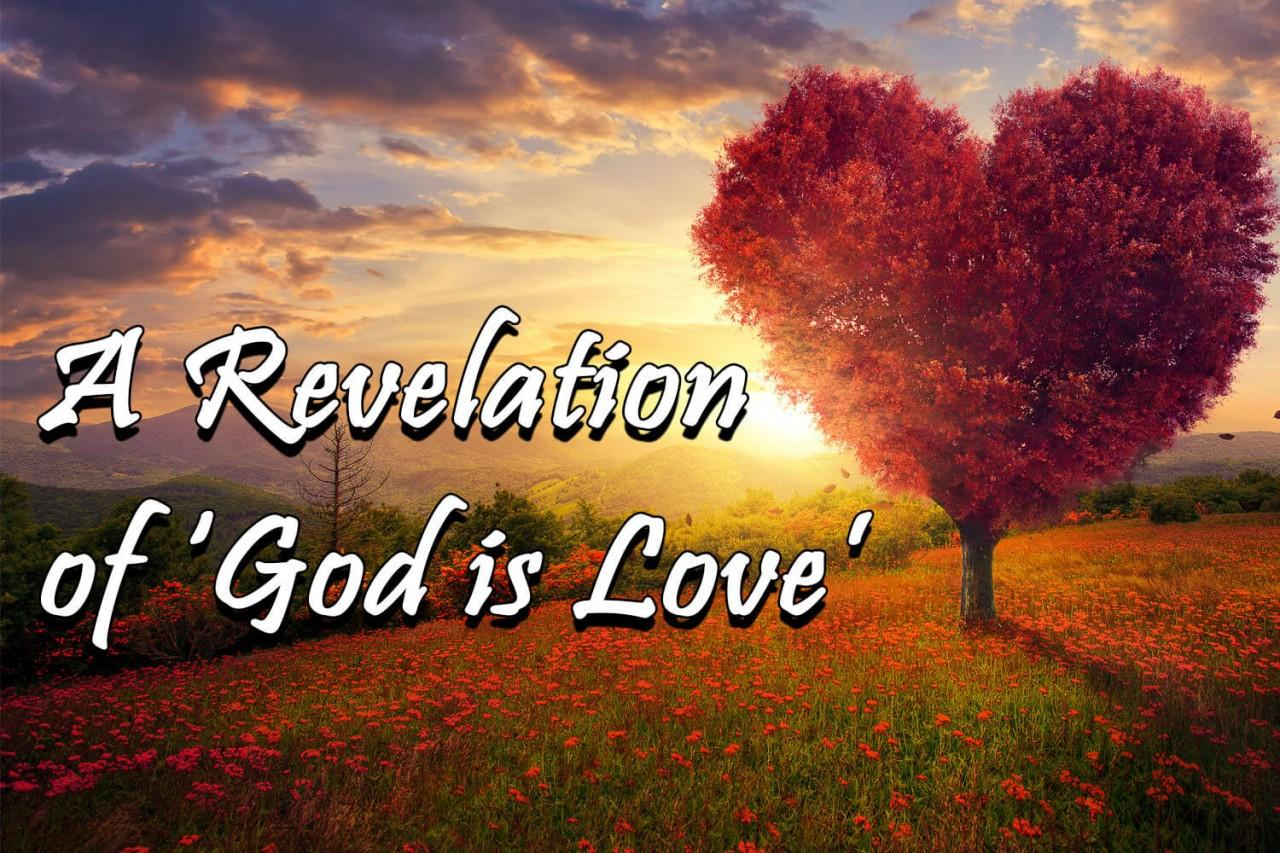 A revelation of God's love