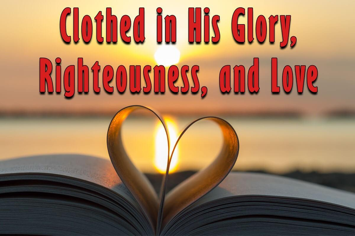 Clothed in the righteousness of Christ