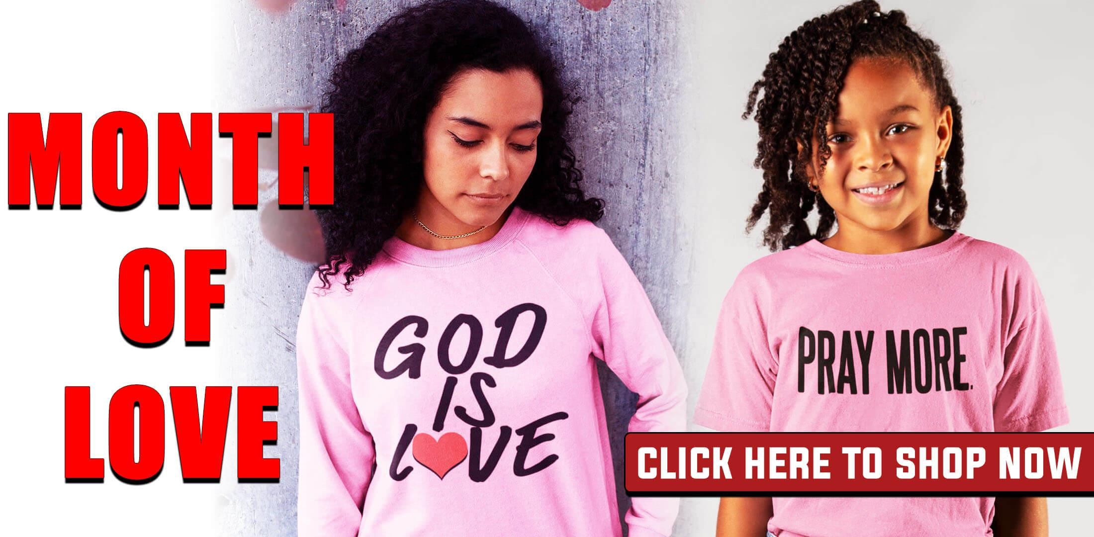 God is love clothing